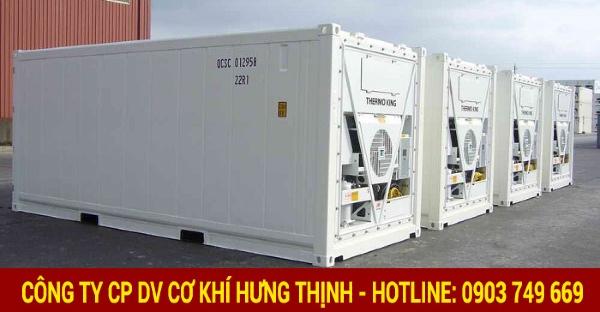 Đầu tư container lạnh 10 feet trong việc vận chuyển và bảo quản sản phẩm mang lại hiệu quả kinh tế cao