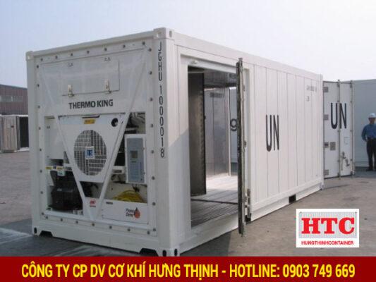 Hưng Thịnh Container - đơn vị chuyên cung cấp, phân phối các loại container lạnh, đặc biệt là dịch vụ container lạnh