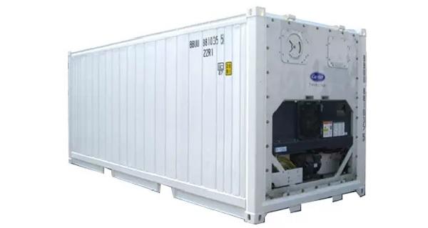Container 20 feet lạnh được ứng dụng để vận chuyển, bảo quản nhiều loại hàng hóa khác nhau