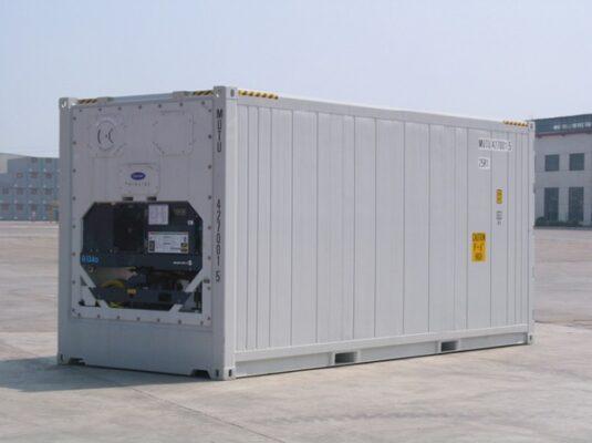 Một số hình ảnh thực tế của container 20 feet lạnh - ảnh 1