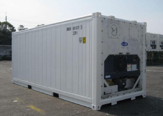 Container lạnh 40 feet có rất nhiều ưu điểm về cấu tạo, dung tích chứa hàng và khả năng làm lạnh, bảo quản hàng hóa tuyệt đối