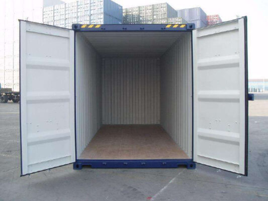 Tổng thể bên trong container