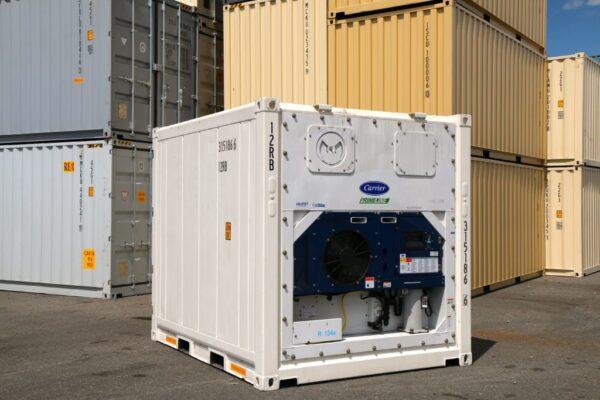 Container lạnh là một dạng phổ biến của container nhiệt và thường được ứng dụng trong việc bảo quản, lưu trữ và vận chuyển hàng hóa đông lạnh
