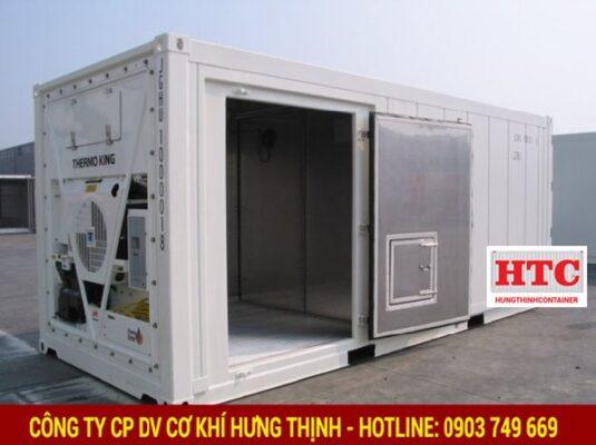 Container lạnh ngày càng được ứng dụng rộng rãi trên thị trường