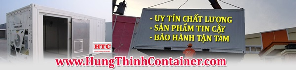 Hưng Thịnh Container chuyên cung cấp, cho thuê container lạnh với chất lượng và giá thành tốt nhất trên thị trường