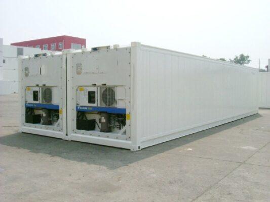 Làm kho lạnh bằng container giúp doanh nghiệp tiết kiệm được nhiều chi phí ban đầu do giá thành container lạnh khá rẻ so với kho cố định